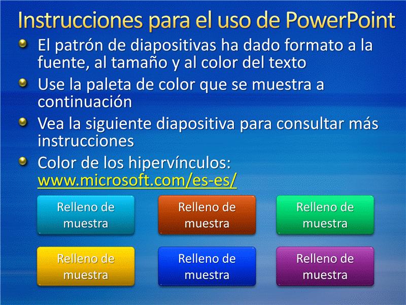 Diapositivas de presentación de muestra (diseño de rayas azules)