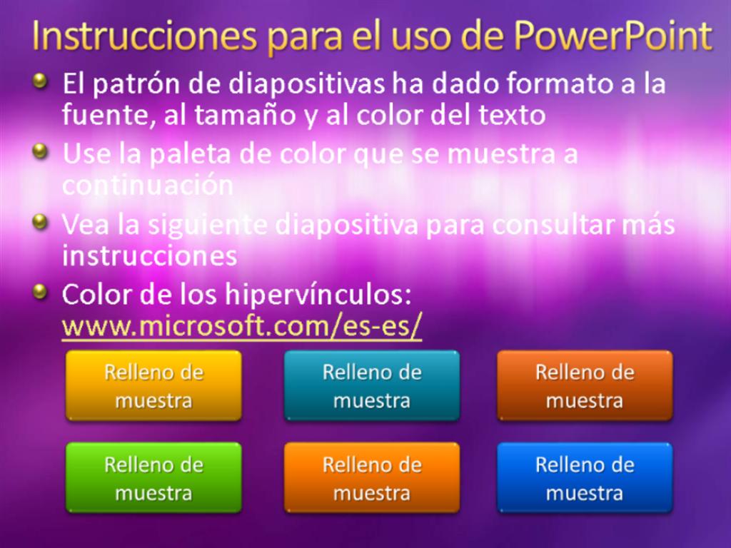 Diapositivas de presentación de muestra (diseño de textura púrpura)