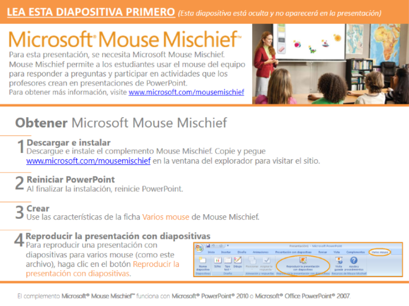 Colores con Mouse Mischief (ESL)