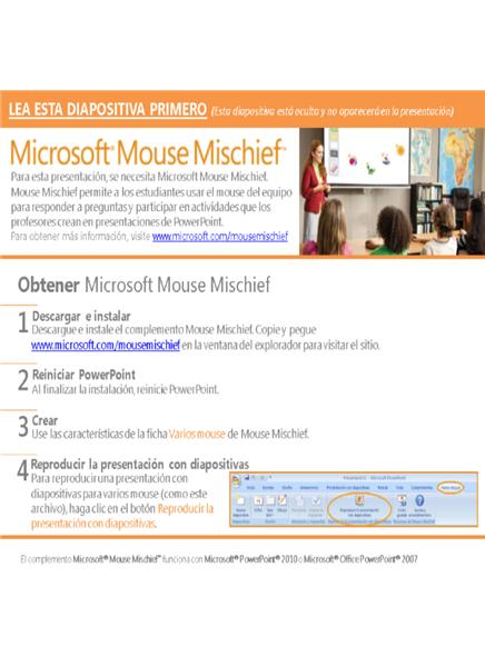 Contar con Mouse Mischief