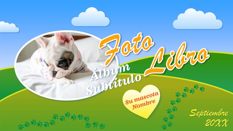 Álbum fotográfico de mascotas