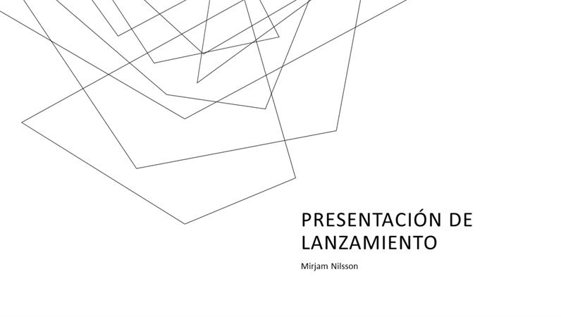 Presentación de ventas minimalista