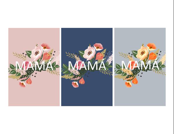Hermosa tarjeta del Día de la Madre