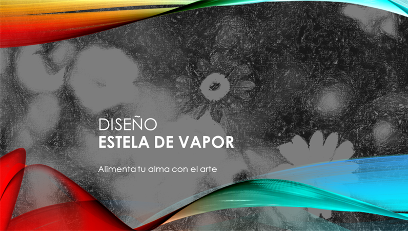 Diseño Estela de vapor