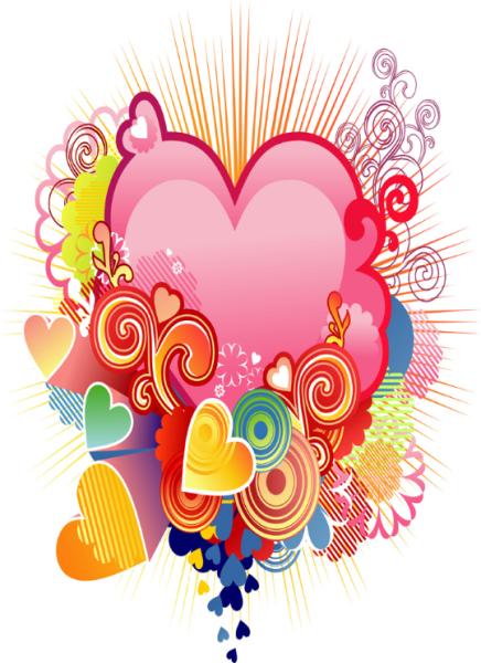 el amor llega hasta el corazon