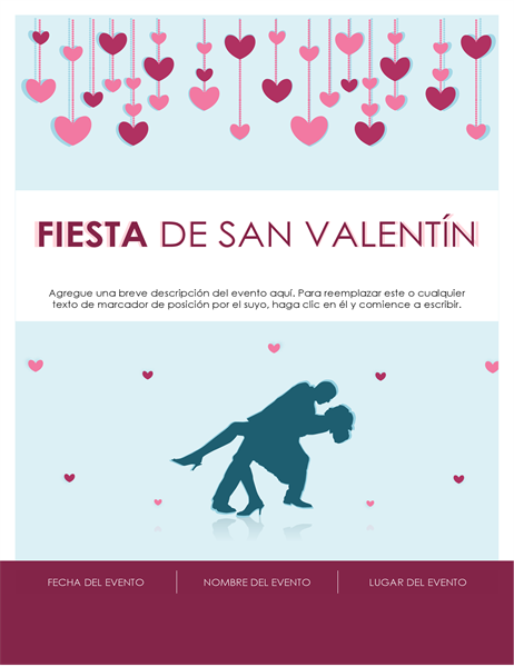 Folleto de San Valentín