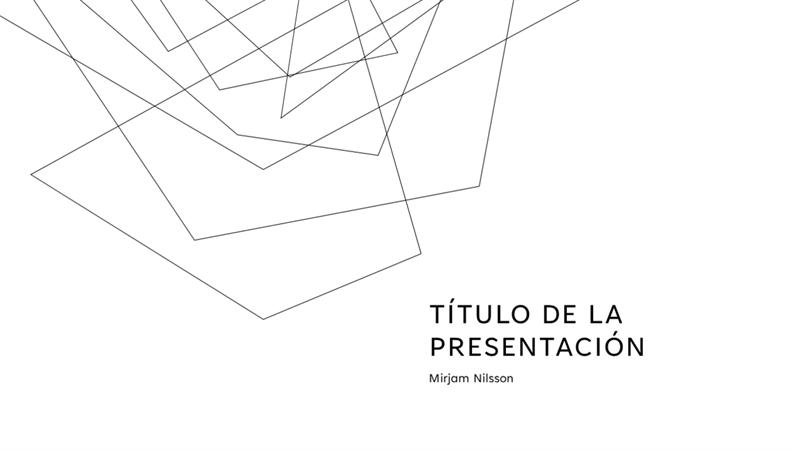 Presentación minimalista