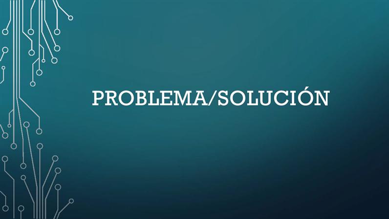 Ciclo problema - solución