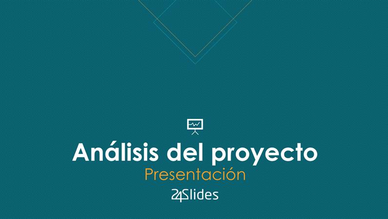 Análisis del proyecto, de 24Slides