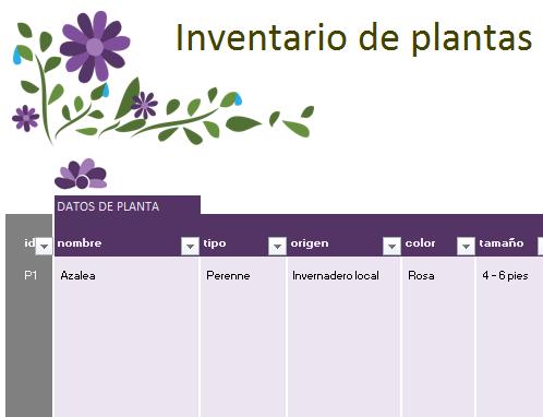 Planificador del jardín