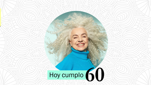 Celebración de la vida: Motivo Floral para cumpleaños