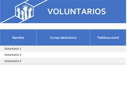 Trabajos voluntarios