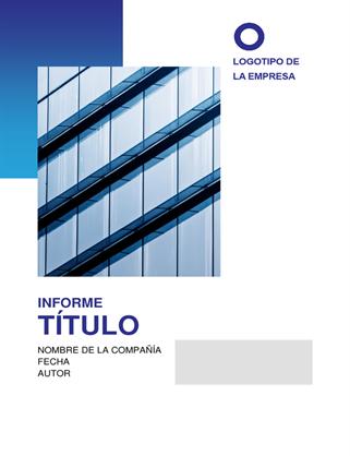 Informe empresarial moderno