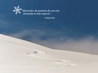 Escena de nieve animada