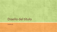 Presentación de tonos tierra (pantalla panorámica)