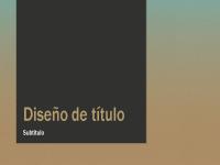Presentación con degradado azul-canela (pantalla ancha)