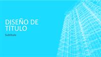 Presentación con el forjado de un edificio (pantalla ancha)