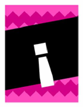 Pancarta de felicitación. Patrón gráfico