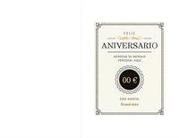 Certificado de aniversario