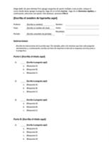 Kit de pruebas de opción múltiple (para crear preguntas de 3, 4 ó 5 respuestas)