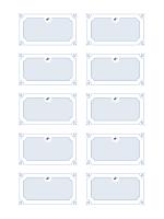 Tarjetas de graduación con nombre (diseño formal)