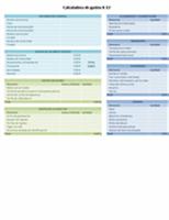 Calculadora de gastos escolares para educación preescolar, primaria y secundaria