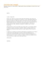 Carta de referencia de estudiante