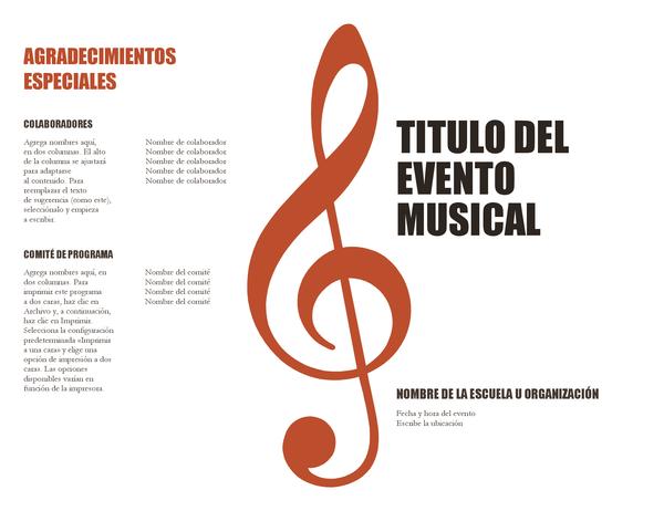 Programa de música