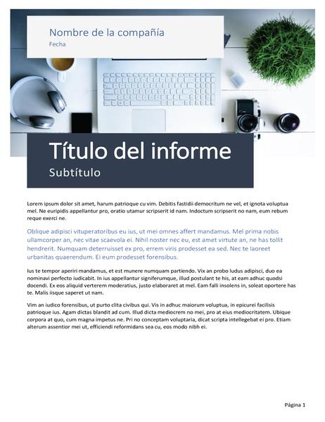 Informe (tema de origen)