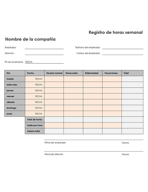 Registro de kilometraje e informe de gastos