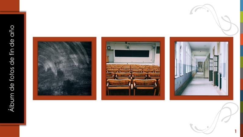 Álbum de fotos de final del año
