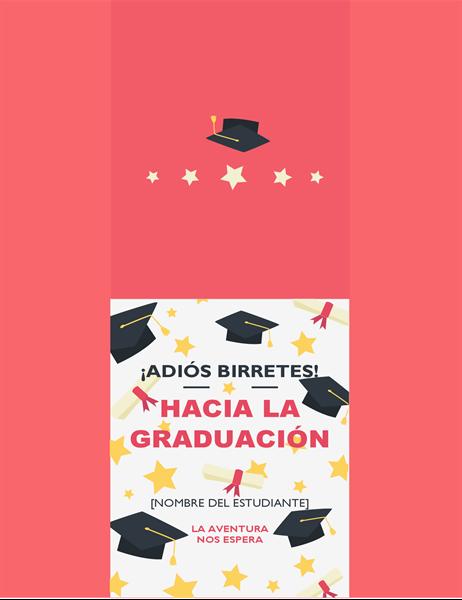 Tarjeta de graduación A sacarse el sombrero