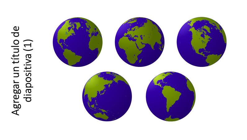 Gráfico de cinco vistas globales