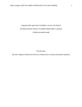 Informe de estilo APA (6 edición)