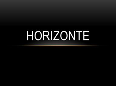 Horizonte