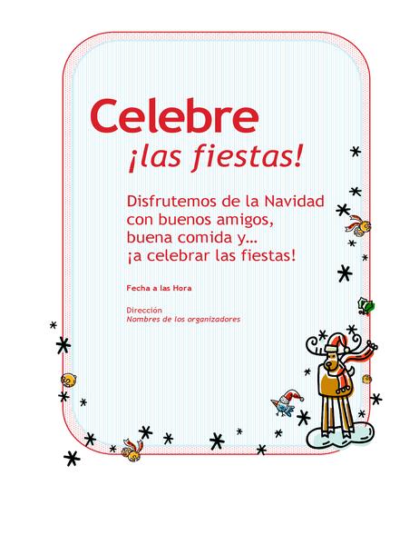 Invitación A La Fiesta De Navidad De La Compañía