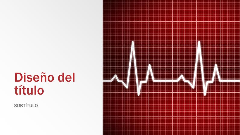 Presentación de diseño médico (panorámico)