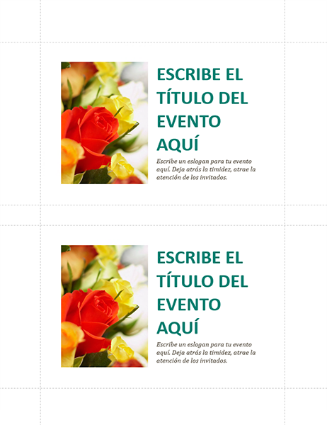Postales de eventos de la empresa (2 por página)