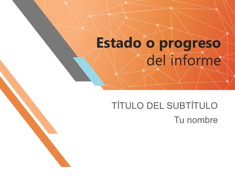 Informe de estado de proyecto