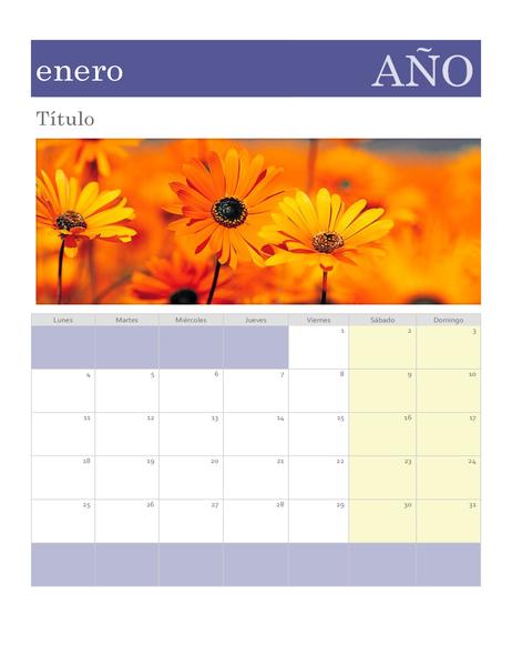 Calendario fotográfico