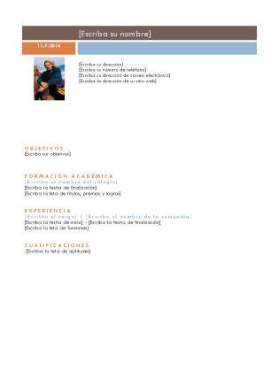 Currículum vitae (tema Intermedio)