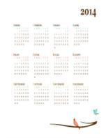 Calendario de 2016