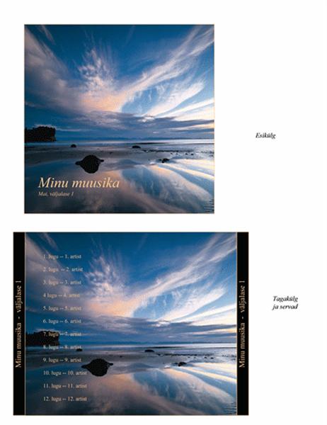 Muusika CD-de karpide vahelehed