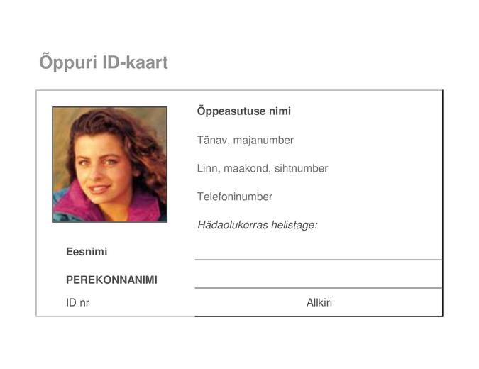 Õppuri ID-kaart