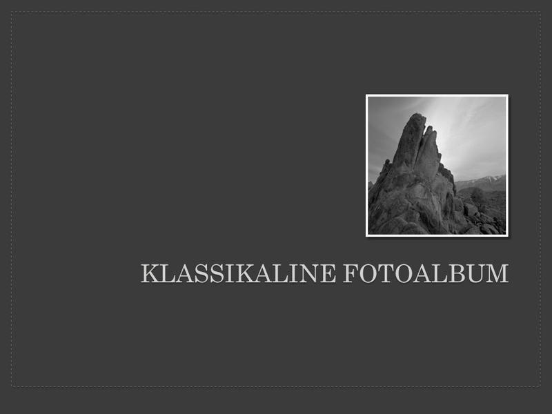 Klassikaline fotoalbum