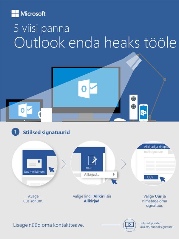 5 viisi Outlook enda heaks tööle panna