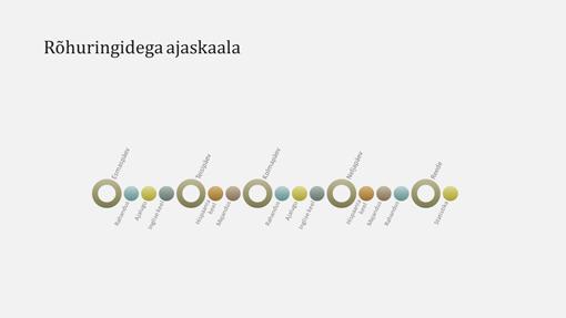Sündmuse ajaskaaladiagrammi slaid (laiekraan)