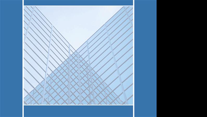 Peegelklaasidega hoonetega kujundusmall