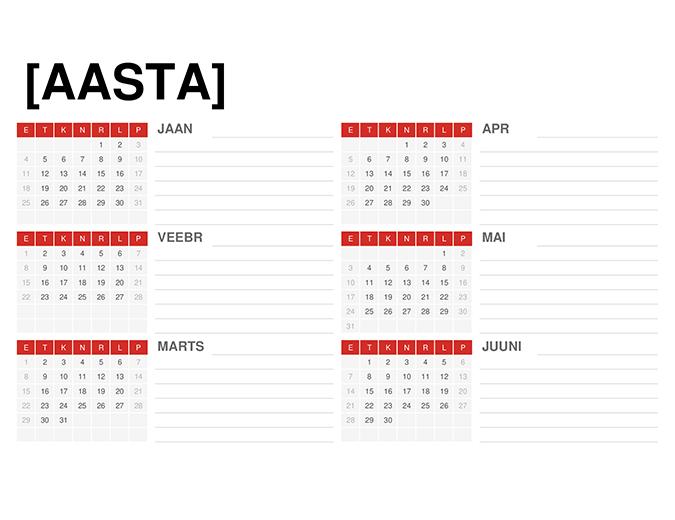 Aastakalender