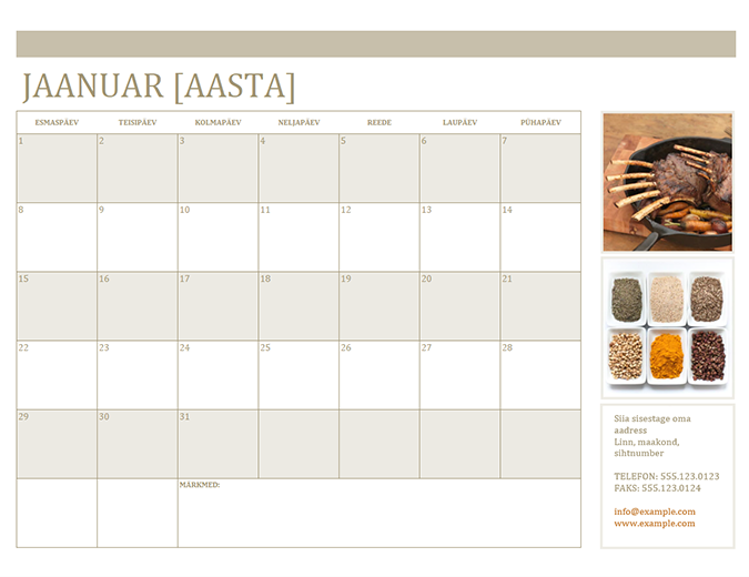 Fotokalender (E)